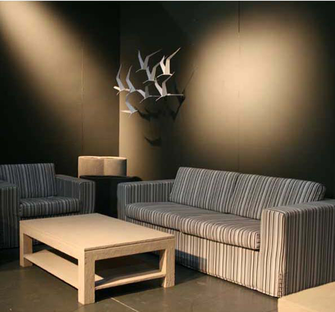 Upholstered Living Room Sofa and Lounge Chair | Philippine ...